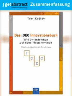 cover image of Das IDEO Innovationsbuch (Zusammenfassung)