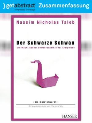 cover image of Der Schwarze Schwan (Zusammenfassung)