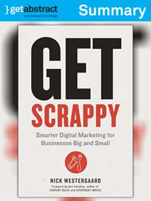 cover image of Get Scrappy (Summary)