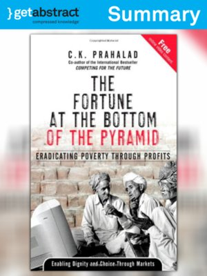 cover image of The Fortune at the Bottom of the Pyramid (Summary)