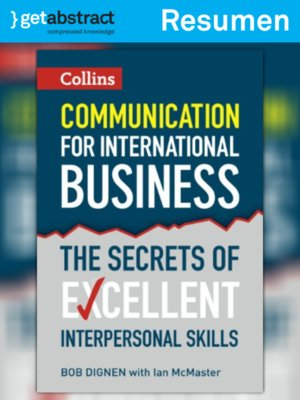 cover image of Comunicación para los negocios internacionales (resumen)