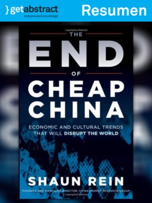 cover image of El fin de la China barata (resumen)