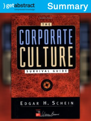 cover image of The Corporate Culture Survival Guide (Summary)