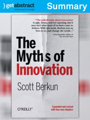 cover image of The Myths of Innovation (Summary)
