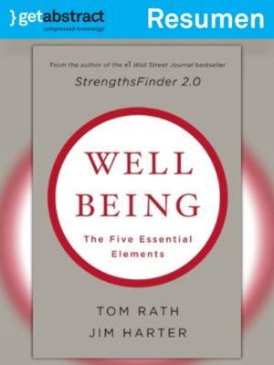 cover image of La ciencia del bienestar (resumen)