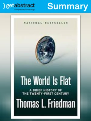cover image of The World is Flat (Summary)