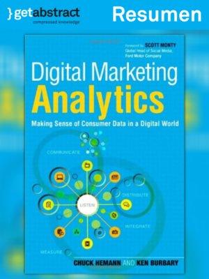 cover image of La analítica de la mercadotecnia digital (resumen)