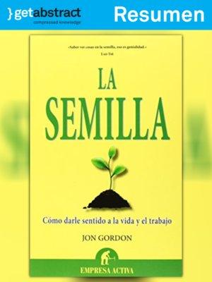 cover image of La semilla (resumen)