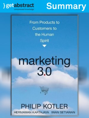 cover image of Marketing 3.0 (Summary)