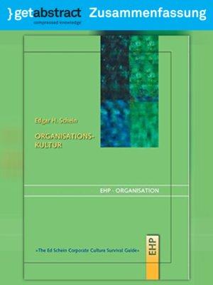 cover image of Organisationskultur (Zusammenfassung)