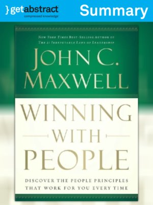 cover image of Winning with People (Summary)