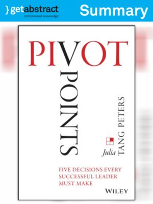cover image of Pivot Points (Summary)