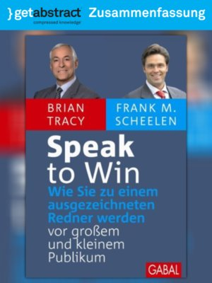 cover image of Speak to Win (Zusammenfassung)