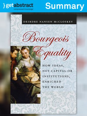 cover image of Bourgeois Equality (Summary)