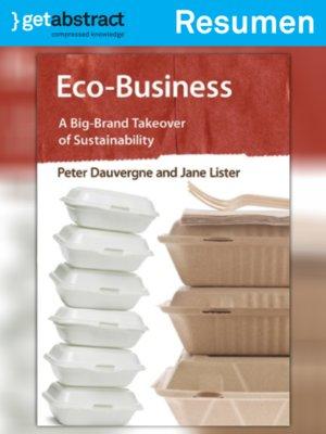 cover image of Econegocios (resumen)