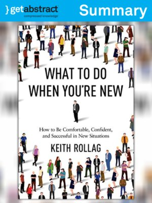 cover image of What to Do When You're New (Summary)