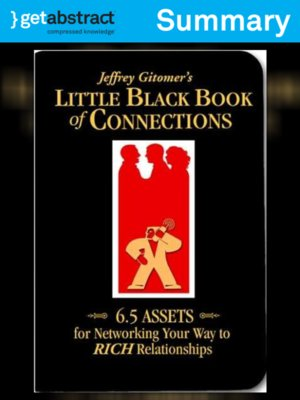 cover image of Jeffrey Gitomer's Little Black Book of Connections (Summary)