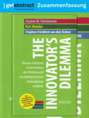 cover image of The Innovator's Dilemma (Zusammenfassung)