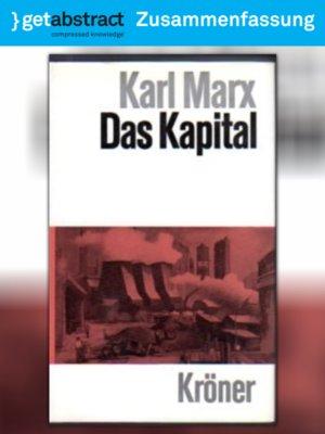 cover image of Das Kapital (Zusammenfassung)