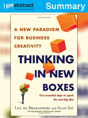 cover image of Thinking in New Boxes (Summary)