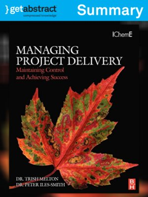cover image of Managing Project Delivery (Summary)