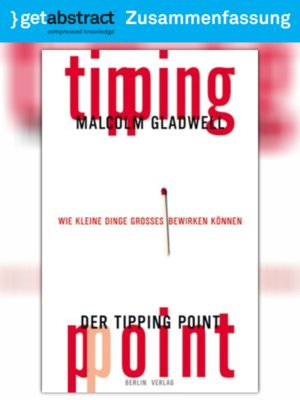 cover image of Der Tipping Point (Zusammenfassung)