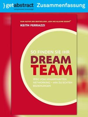 cover image of So finden Sie Ihr Dream-Team (Zusammenfassung)