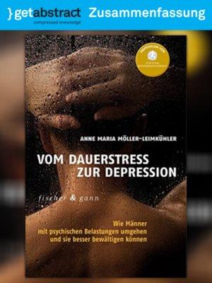 cover image of Vom Dauerstress zur Depression (Zusammenfassung)