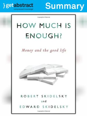 skidelsky how much is enough pdf
