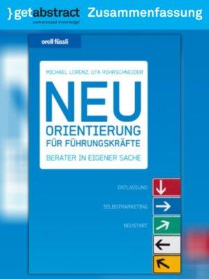 cover image of Neuorientierung für Führungskräfte (Zusammenfassung)
