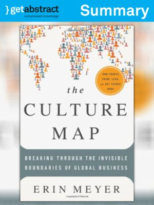 cover image of The Culture Map (Summary)