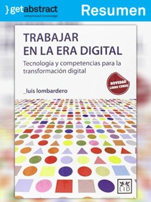 cover image of Trabajar en la era digital (resumen)