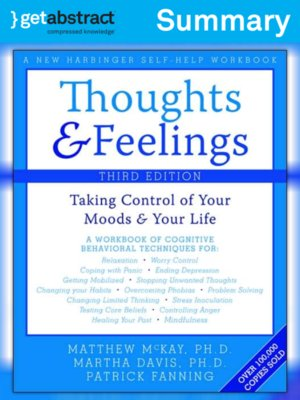 cover image of Thoughts & Feelings (Summary)