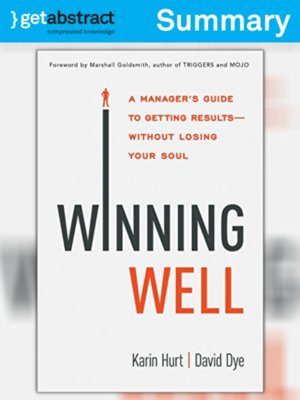 cover image of Winning Well (Summary)
