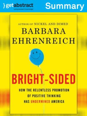 cover image of Bright-Sided (Summary)