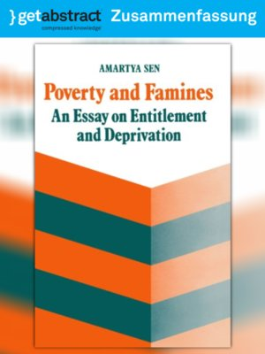 cover image of Armut und Hungersnöte (Zusammenfassung)