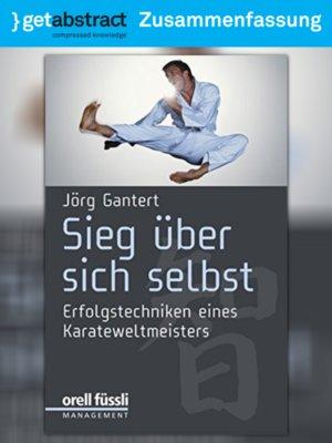 cover image of Sieg über sich selbst (Zusammenfassung)