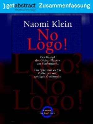 cover image of No Logo! (Zusammenfassung)