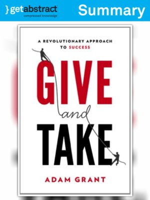 cover image of Give and Take (Summary)
