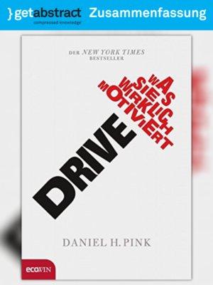 cover image of Drive (Zusammenfassung)