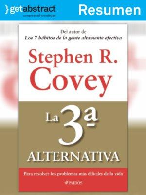 La Tercera Alternativa Stephen Covey Pdf Download