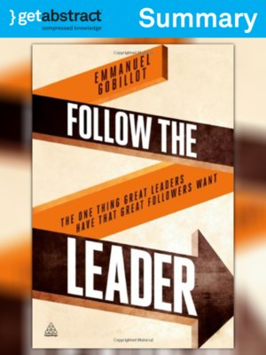 cover image of Follow the Leader (Summary)