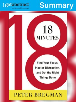 cover image of 18 Minutes (Summary)