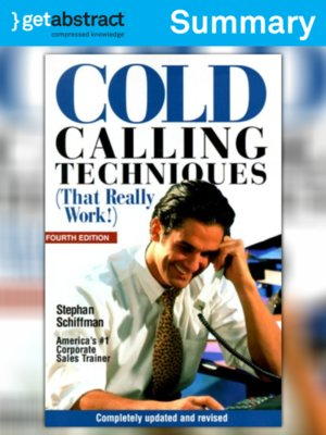 cover image of Cold Calling Techniques (Summary)