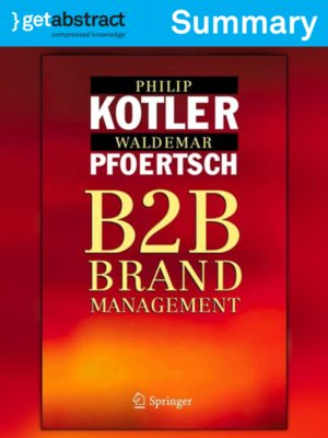 cover image of B2B Brand Management (Summary)