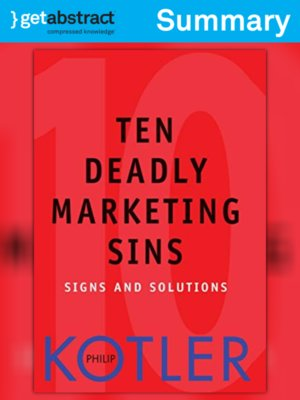 cover image of Ten Deadly Marketing Sins (Summary)