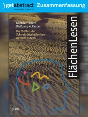 cover image of FlächenLesen (Zusammenfassung)