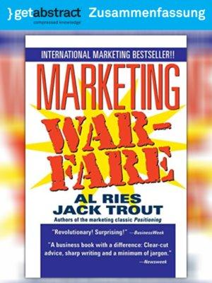 cover image of Der Marketingkrieg (Zusammenfassung)