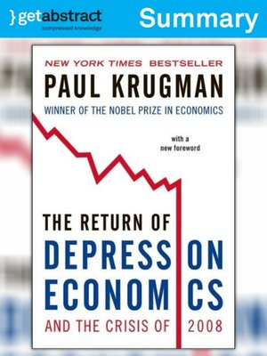 cover image of The Return of Depression Economics and the Crisis of 2008 (Summary)