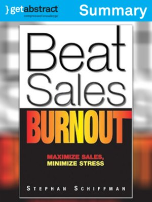 cover image of Beat Sales Burnout (Summary)